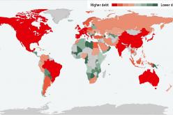Госдолг стран мира в 2014 году