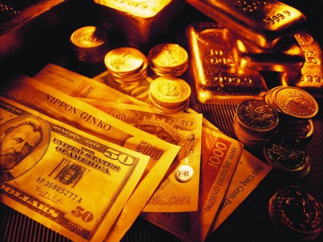 Торговля золотом на бирже