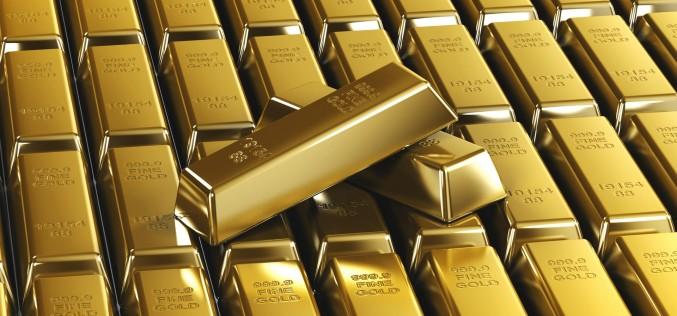 После длительного роста, золото впервые опустилось ниже 1200 долларов за унцию