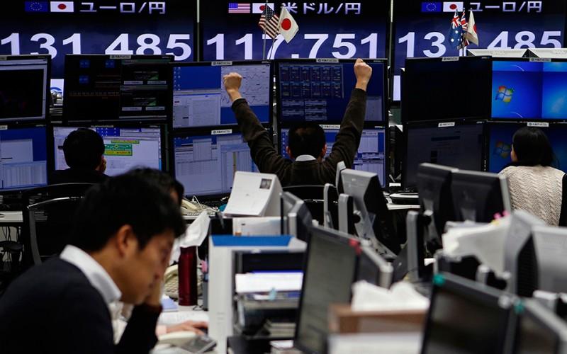 Рост на фондовом рынке Японии