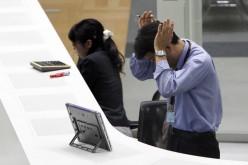 Фондовый рынок Японии вновь упал