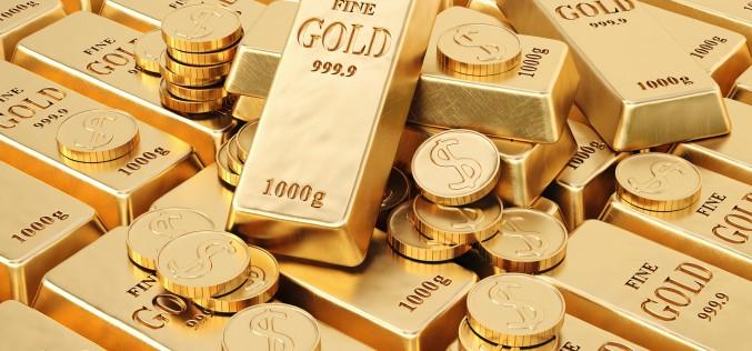Золото растет в ходе американкой торговой сессии