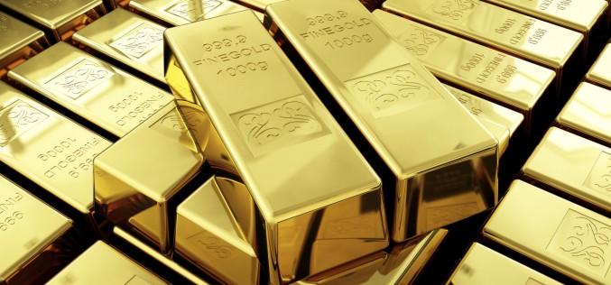 Золото выросло до максимальных значений последних 14 месяцев