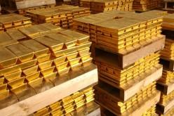 Золото опустилось ниже 1250 долларов США за тройскую унцию