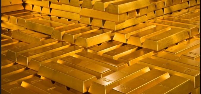 Золото завершает месяц рекордным падением с начала года