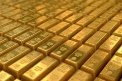 Золото отступило от максимальных значений