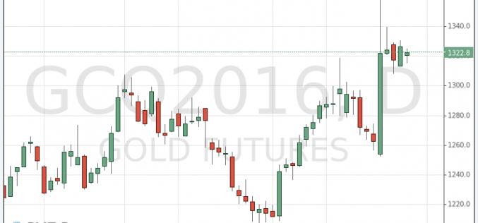 Цены на золото слегка выросли
