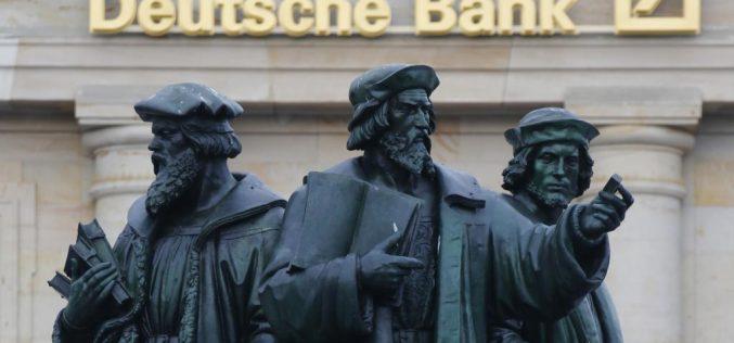 Правительство Германии  и не думало спасать Deutsche Bank