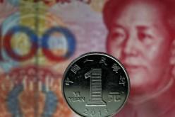 Юань вошел в десятку наиболее торгуемых валют мира