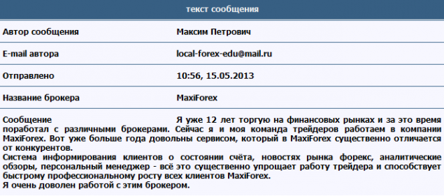 Maxi forex