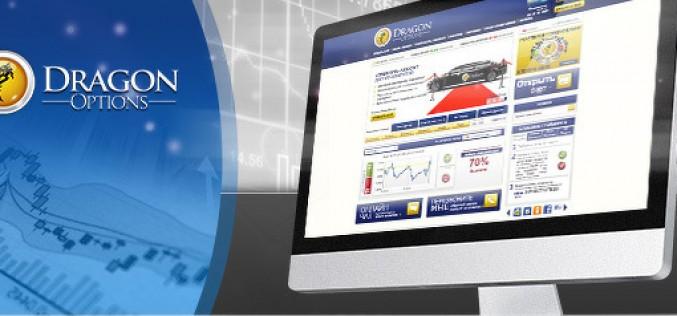 Обзор платформы для торговли опционами Dragon Options
